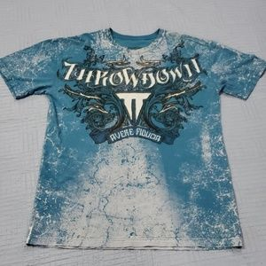 Throwdown PREMIUM  Affliction XXL Graphic T-Shirt!